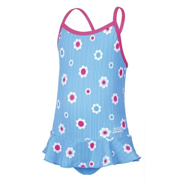 zoggs holiday toddler swimdress