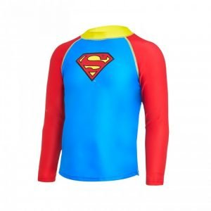 Zoggs Superman long sleeve sun top