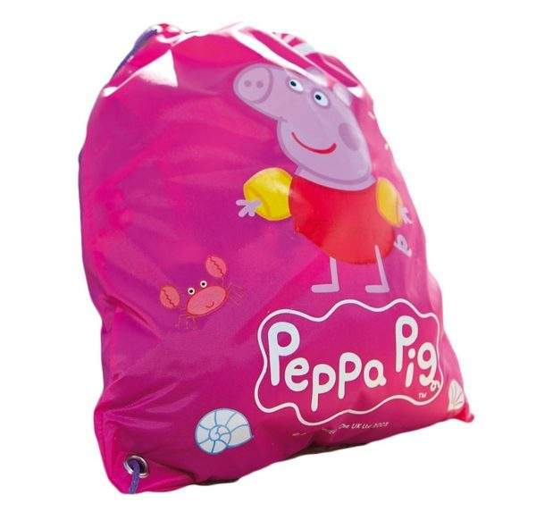 Zoggs Peppa swim bag rucksack
