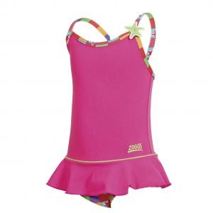 zoggs starcheck toddler swimdress