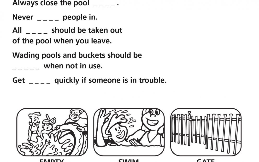 Swim 2 u Blog – Day 123 Water Safety Rules For The Home.