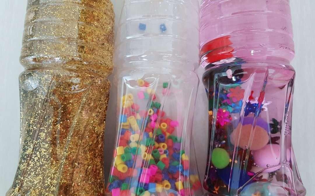 Swim 2 u Blog – Day 151 Sensory Bottles.