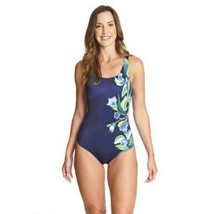 Zoggs Gladiolus adjustable scoopback swimsuit