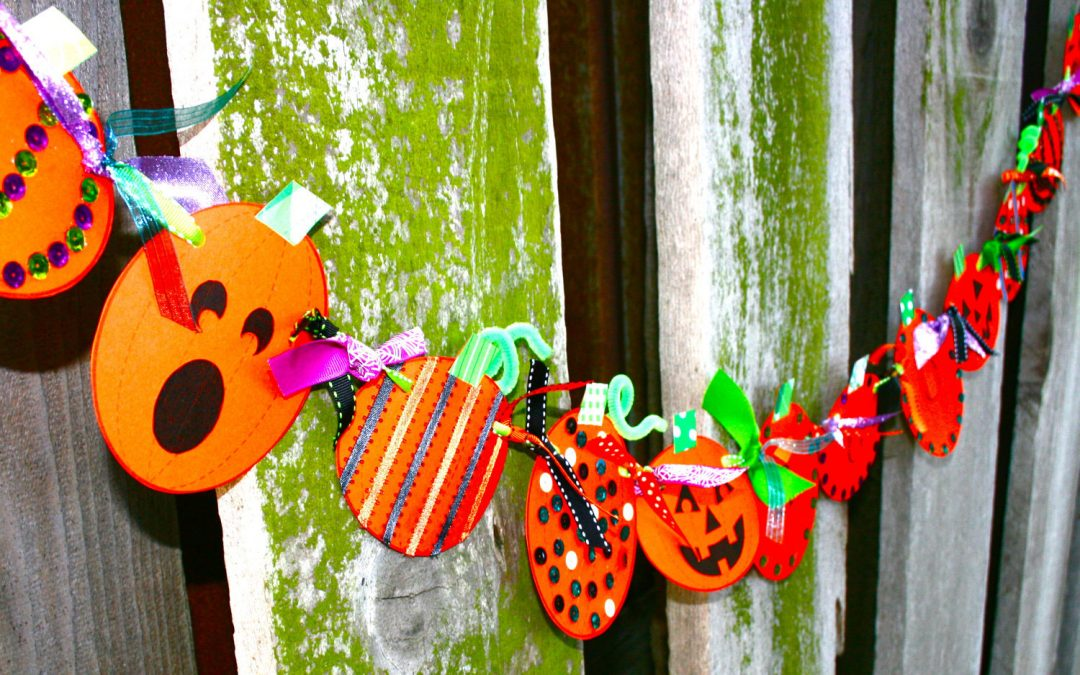 Swim 2 u Blog – Day 221 Pumpkin Bunting!